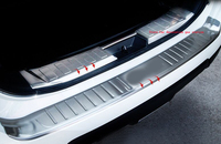 Car Accessories Stainless Steel Rear Bumper Trunk Plate Guard Plate For Nissan X Trail X Trail
