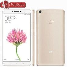 Original Xiaomi Mi Max 4850mAh Snapdragon 652 Octa Core 4GB 128GB 6.44″ 1080P Mobile Phone 16MP Fingerprint ID MIUI 8