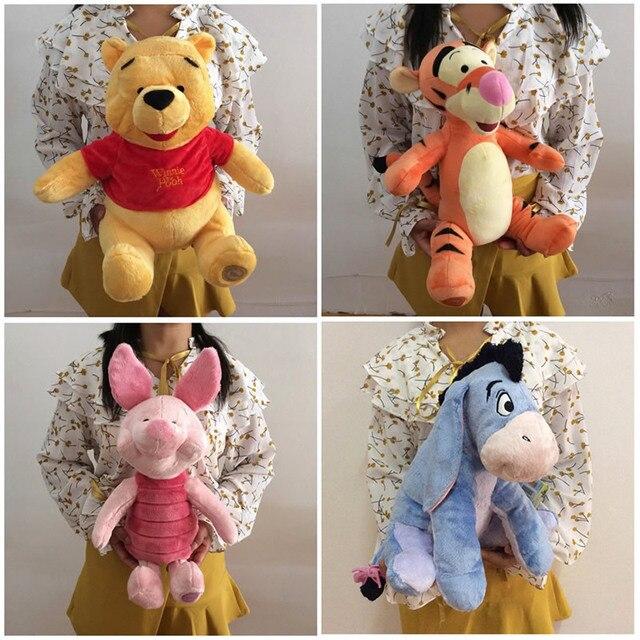 Free shipping Eeyore Donkey Winnie Bear Tigger Tiger Piglet Pig And Rabbit Roo Plush Toys Cute Stuffed Animals Kids Soft Doll
