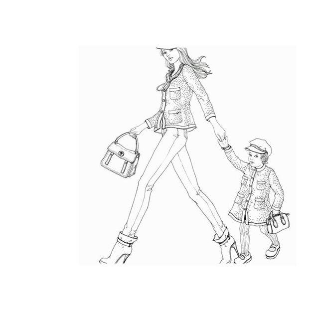 Tienda Online 2016 moda mirar para colorear Libros para niños ...