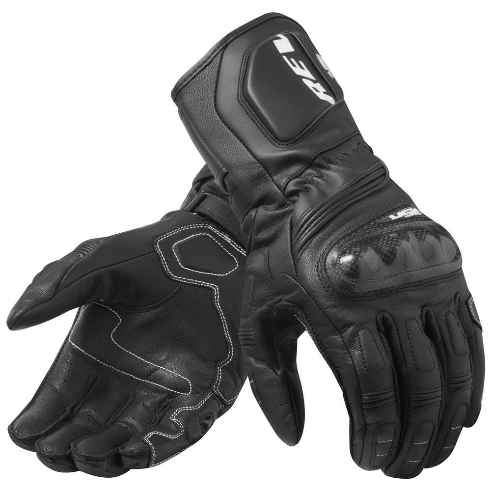 New 2019 REVIT RSR 3 Black/White Motorrad Motorcycle Touring Leather Gloves racing glove / Motorcycle gloves revit 4 colors-in Gloves from Automobiles & Motorcycles    2