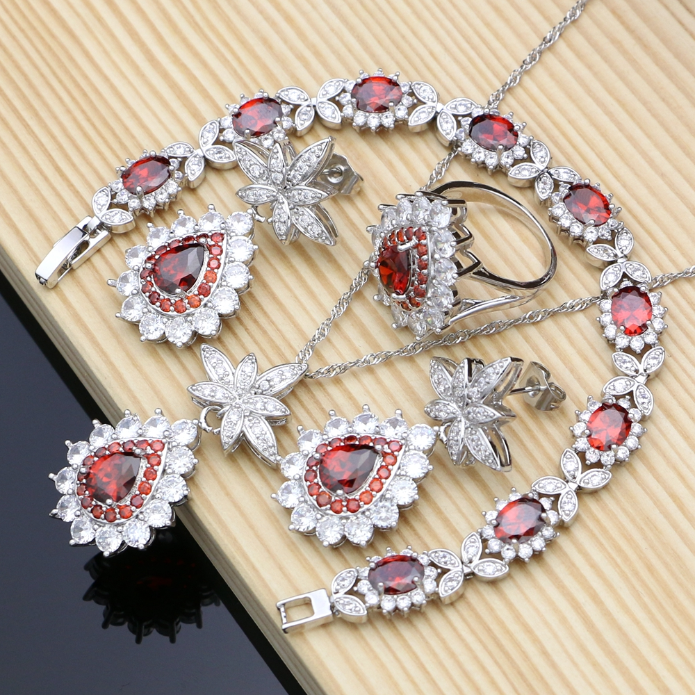Costume Jewelry Kits Red CZ...