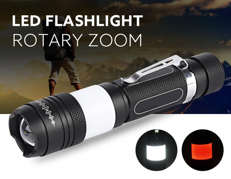 Powerful led flashlight USB CREE XML T6 18650 rechargeable battery waterproof Portable led Torch Camping flash light 6000lumens bike bicycle light cree xml t6 led flashlight torch mount holder warning rear flash light