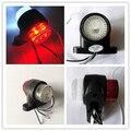 1 par de 1.25 polegadas 10-30 v 12 v Posição Emark luzes stalk lado marcador esboço do reboque Do Caminhão Camião Van lâmpada de Apuramento luz Pedestal