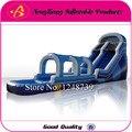 Горячие Продажи Коммерческих Надувные водные горки с бассейном для аренды, большие надувные слайд