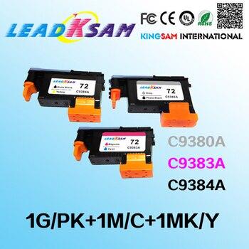 3x C9380A C9383 C9384A 72 cabezal compatible para hp72 Designjet 2300 T610 T620 T770 T790 T1100 T1120 T1200 T1300 T2300