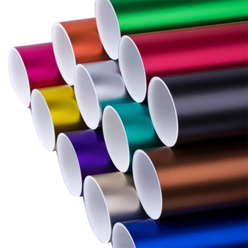 Car Stickes Film Matt Vinyl 1.52*20M/Roll (5ft x 65ft) with air release channels Color Option