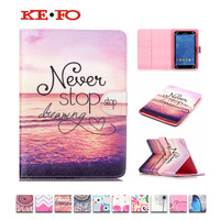 Printed Leather Case For ASUS Google Nexus 7 For Huawei MediaPad 7 Youth 2 S7 721U