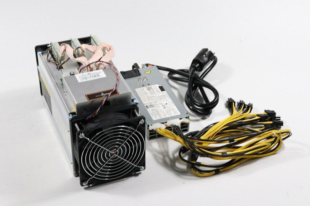 Neue Bitmain Asic Miner AntMiner V9 4TH/S Bitcoin Miner (mit NETZTEIL) BTC BCH Miner Wirtschafts Als Atminer S5 S7 S9 S9i S9j T9 +