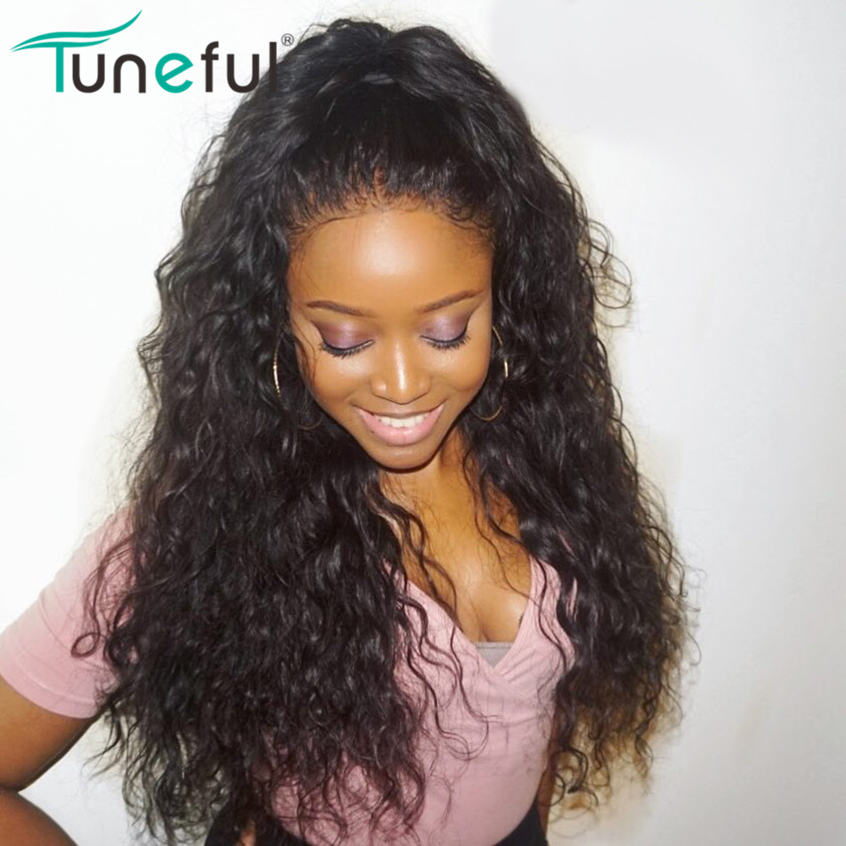 150% Human Hair Wigs For Women Pre Plucked Hairline With Baby Hair Malaysian Water Wave Remy Hair Lace Front Human Hair Wigs