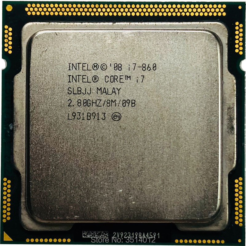 Intel Core i7-860 i7 860 2.8 GHz Quad-Core CPU Processor 8M 95W LGA 1156  contact to sell i7 870