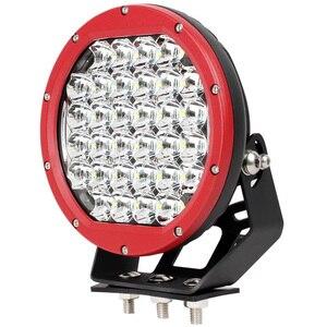Image 2 - Светодиодный Рабочий фонарь Xuanba, 8 дюймов, 160 Вт, для внедорожников, вездеходов, 12 В, 24 В, грузовиков, прицепов, 4WD, 4x4, внедорожников, грузовых автомобилей
