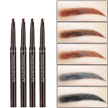9 Type Natural Eye Brow Long Lasting Paint Eyebrow Pencil with Brow Brush Waterproof Black Brown Automatic Makeup Cosmetic Tool