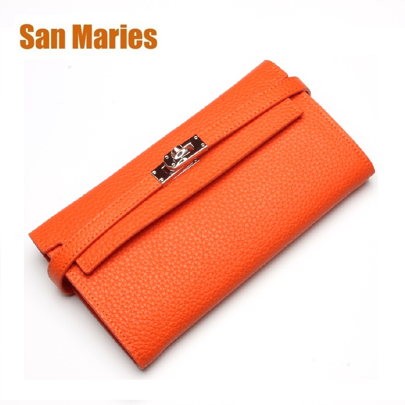 San Maries Long Solid Luxury Brand Women Wallets Fashion Hasp Leather Wallet Female Purse Clutch Money Women Wallet Coin Purse беговая дорожка bh fitness sx pro g6432r