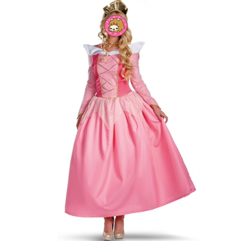 adults Pink princess dresses