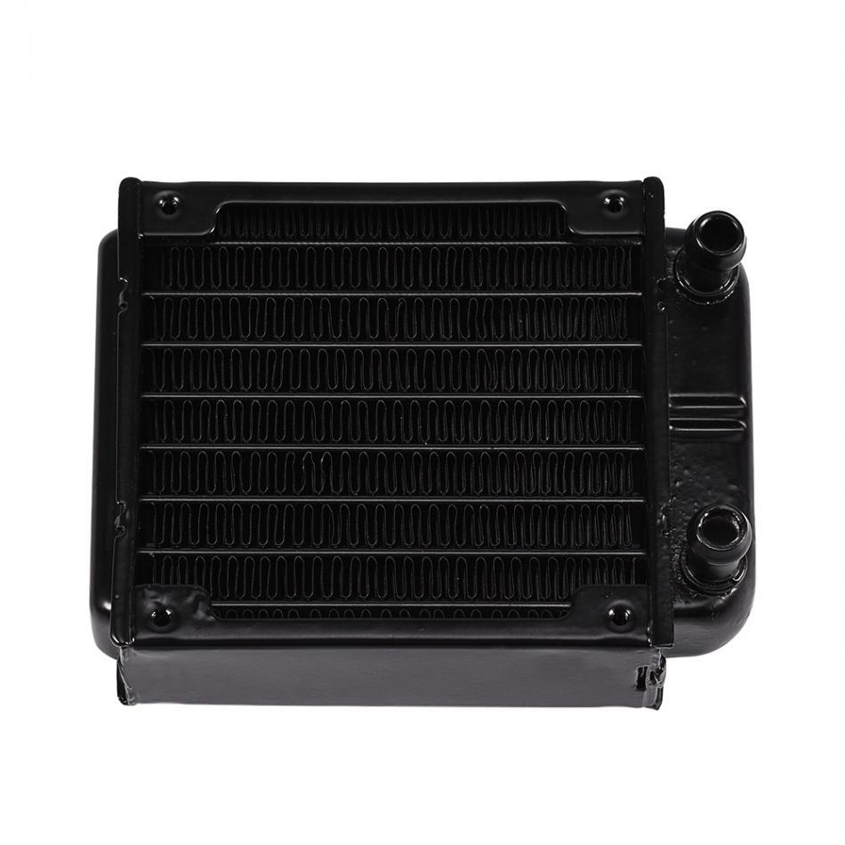 Aluminum 80mm Radiator Water Cooling Cooler for CPU Heatsink Computer PC fans