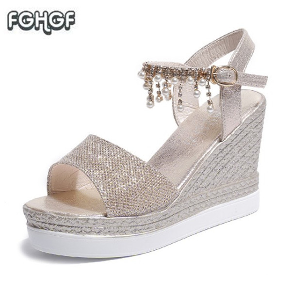 677dabac9471 Silver Rhinestone&Crystal Sandals Women Shoes Summer Fetish High Heel  Sandals Ladies Glitter Addeds Lolita Shoes Woman Sandalie