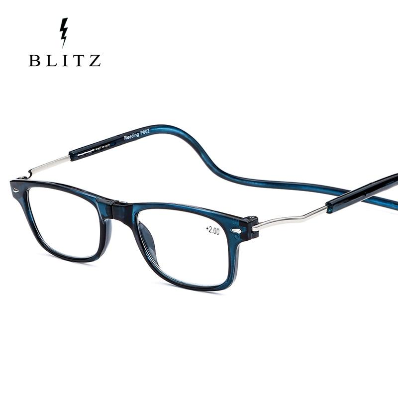 folding magnetic reading glasses
