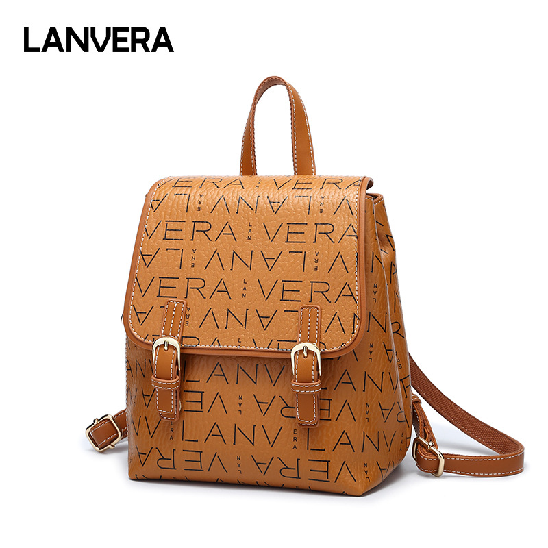 Women Leather Backpack Luxury Brand Classic Shoulder Bag Female School Bag Famous College Backpack Tote Bag vieline genuine leather women backpack famous brand lady leather backpack leather school bag free shipping