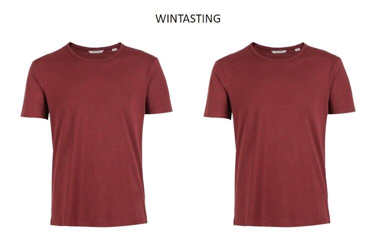 Men's Cotton T-shirt Solid Color Men's Top Fashion t shirt Brand New Menswear 42