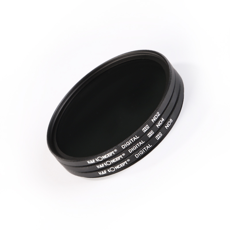 ND8 ND Neutral Density Motion Blur Shutter Speed Filter for Canon EF-M 18-55mm f3.5-5.6 IS STM Lens