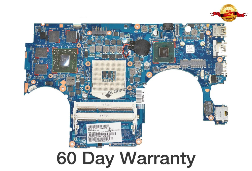 Top quality , For HP laptop mainboard ENVY 15  679814-001 laptop motherboard,100% Tested 60 days warranty top quality for hp laptop mainboard dv7 dv7 4000 630984 001 hm55 laptop motherboard 100% tested 60 days warranty