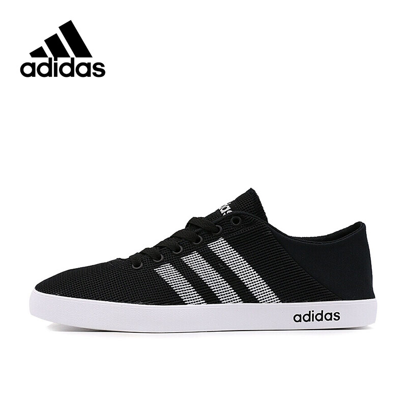 Adidas Authentic New Arrival 2017 NEO Label EASY VULC Men's Skateboarding Shoes Sneakers CG5835 adidas original new arrival official neo women s knitted pants breathable elatstic waist sportswear bs4904