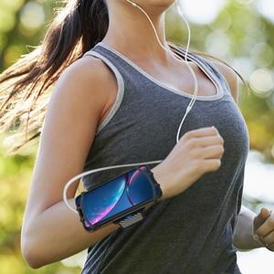 Image 5 - Sportowa opaska na nadgarstek pokrywa uchwytu telefonu uniwersalny sportowy uchwyt na telefon komórkowy Outdoor Sport Phone Wrist Case