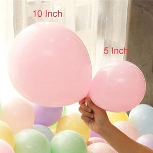 Image 3 - 100pc/lot 10 inch Macaron Latex balloons Wedding Birthday Decoration Globos Baby Shower Girl Birthday Party Pastel Balloons