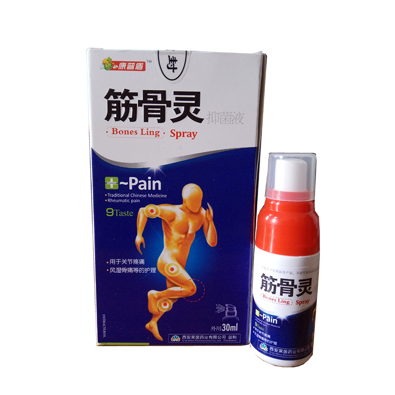 1box Chinese Medicine Pain Relief Spray From Rheumatic, Rheumatoid Arthritis, Joint Pain, Muscle Pain, Bruises, Swelling the newest rheumatoid arthritis shoulder pain pain relief laser with 5 probes in 1 device option 2