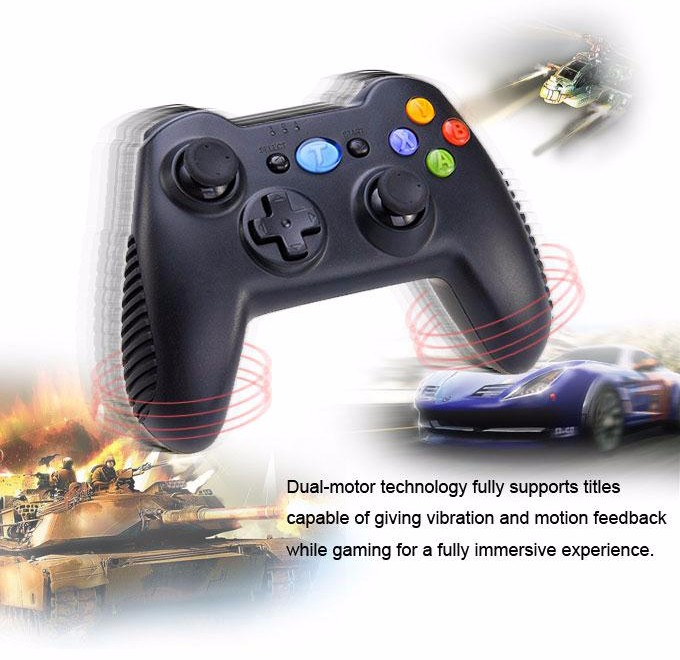 Tronsmart Mars G01 2.4GHz Wireless Gamepad for PlayStation 3 PS3 Game Controller Joystick for Android TV Box Windows (17)-2