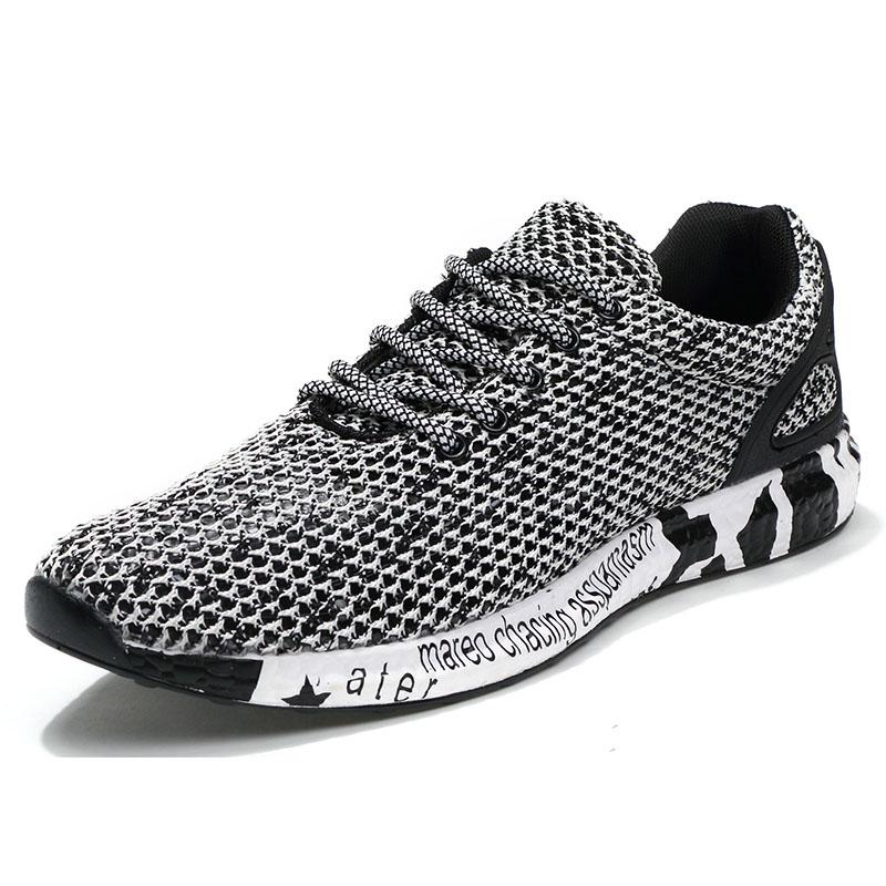 Товар New Popular Style <b>Men Running Shoes</b> Air Mesh Lace-Up ...