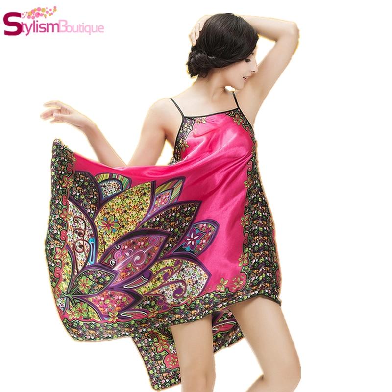 Hot Women Lingerie Summer Style Sleeveless Nightie Dress Robe Home Clothes Female Nightgown Sleepwear Camis Nightwear Sarafan