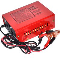 Newest 12V 24V 10A 6 105AH Universal Car Battery Charger US Motorcycle Battery Charger Lead Acid