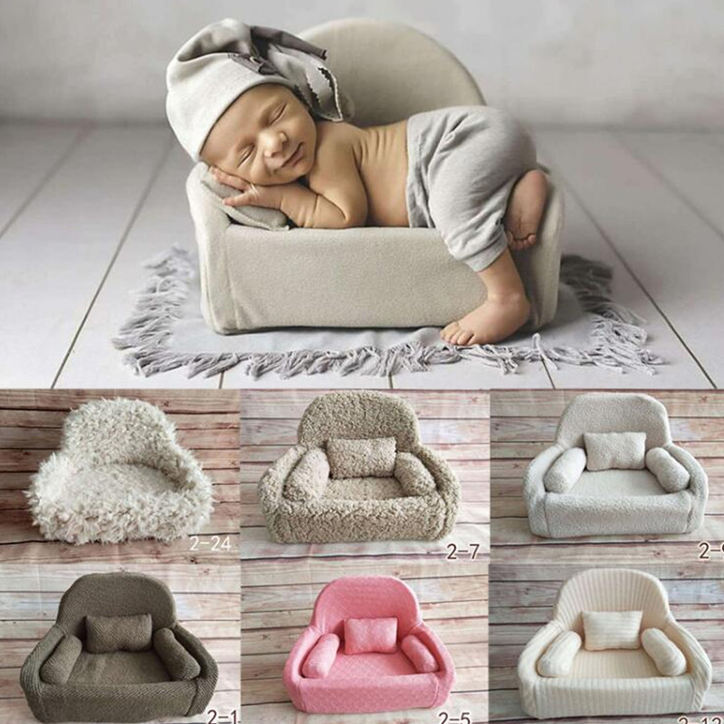 все цены на 2018 New Newborn Photography Props Baby Posing Sofa Newborn Basket Props Baby Photography Studio Infant Photoshoot Accessories