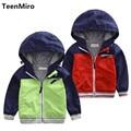 Brand Kids Jackets Toddler Boys Blazer Children Outerwear Windbreaker Cotton Lining Waterproof Raincoat Baby Enfant Trenchcoat