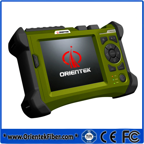 Orientek TR600 MM OTDR Teter 850/1300nm 21/19dB Built-in 10mW VFL Optical Fiber Test Tools