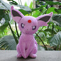 "Wholesale 5pcs/ lot  Free shipping Pokemon Plush Toys 12"" Big Sitting Espeon Soft Stuffed Animals Toy Collectible Christmas Gift"