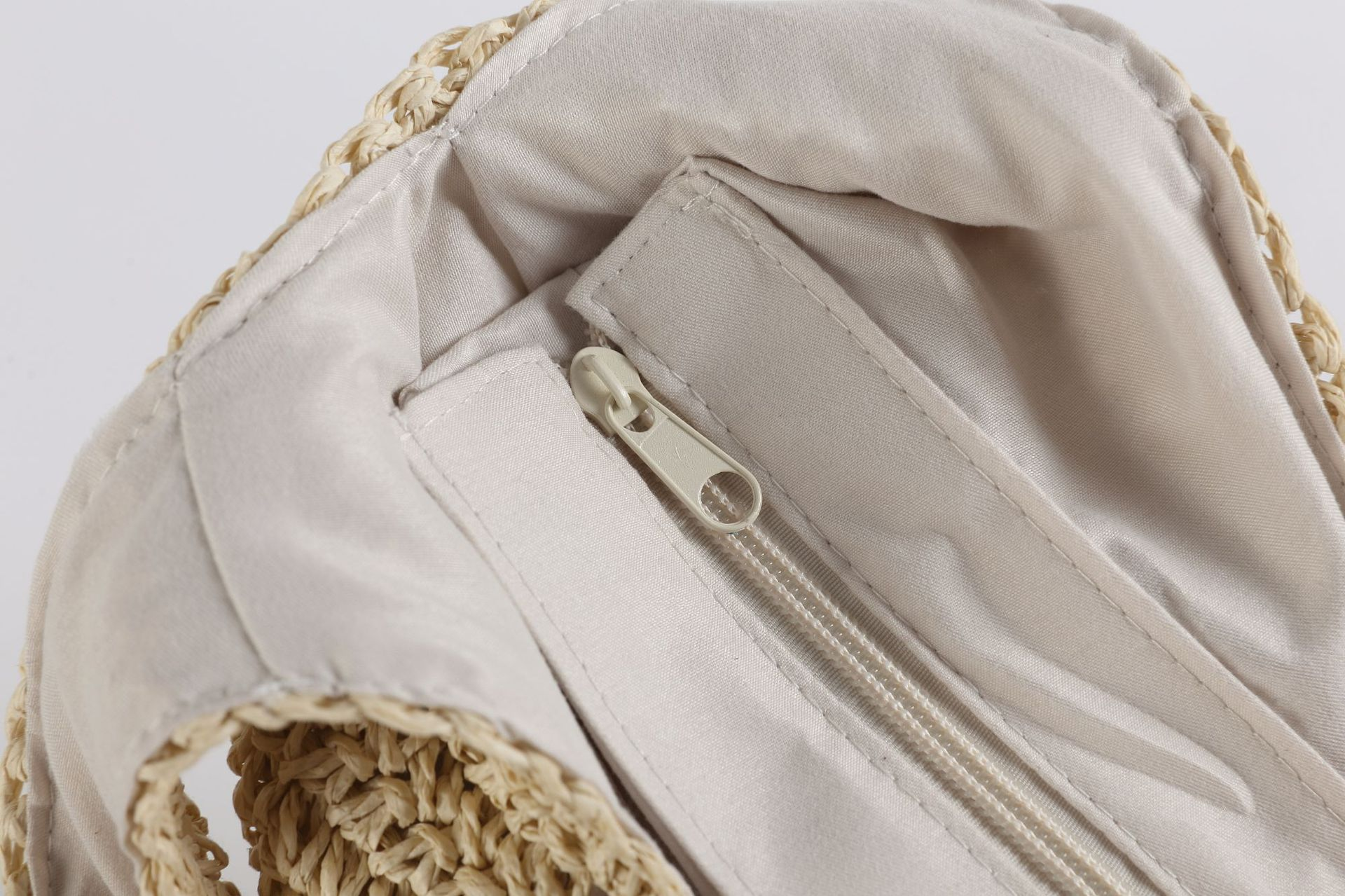 Oversized Straw Shopper Bags