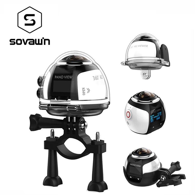 Caméra 360 degrés VR 4 K Wifi vidéo Mini panoramique 2448*2448 HD Panorama Action 3D virtuelle Realit étanche sport conduite caméra