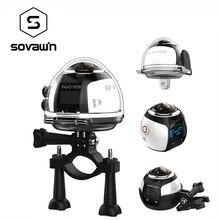 360 Degree Camera VR 4K Wifi Video Mini Panoramic 2448*2448 HD Panorama Action 3D Virtual Realit  Waterproof Sports Driving Cam