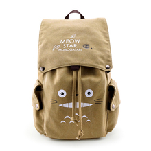 E-Mell Fate Grand Order Attack on Titan Sword Art online Natsume Yuujinchou Totoro Multifunction shoulder canvas bag Backpack anime natsume yuujinchou cosplay 2017 new animation canvas bag casual backpack korean fashion students