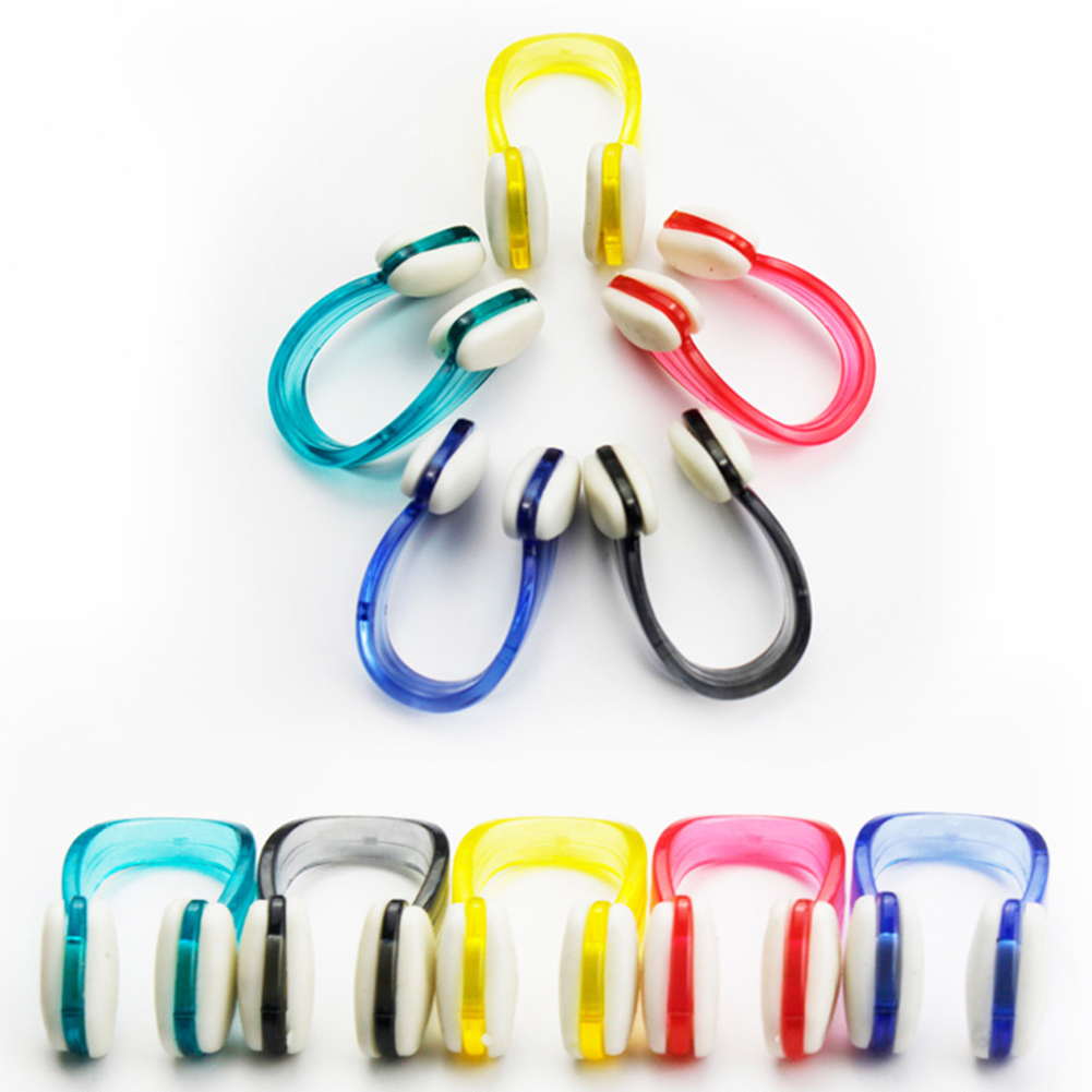 Non-toxic Outdoor Aid Water Sports Swimming Waterproof Mini Nose Clip Adult Kids