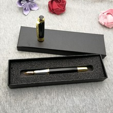 Top quality logo Fountain Pen you can custom any logo/phone on cap or pen body 20pcs free designed