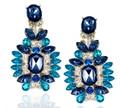 SBY0648 Fashion Amazing Hot Sale Bohemian Stud Blue Earrings For Women Jewelry