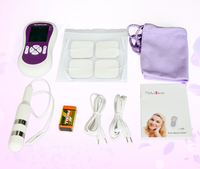 Biofeedback Pelvic Muscle Electrical Trainer With 1pc Anal Vaiginal Probe 2pairs Pads Incontinence Therapy For Men