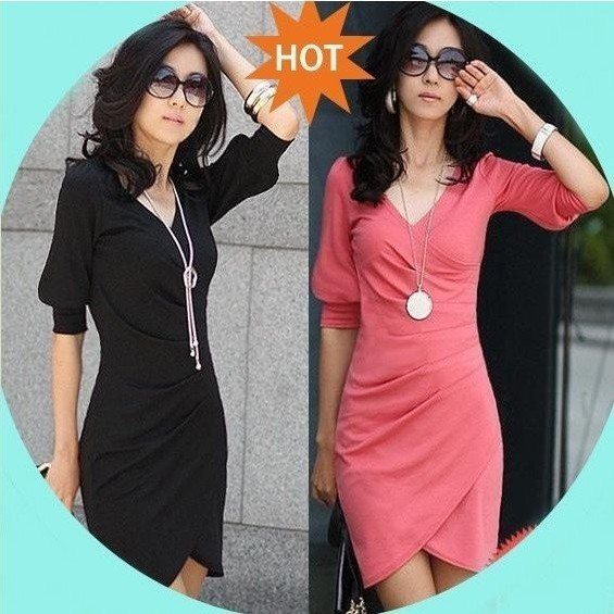 Free Shipping New Fashion irregular Tailer-made Women's evening Party Ladies Cotton Dresses,PROMOTION