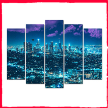 Nordic Style Poster Print Minimalist Wall Art City Night Scene Canvas Painting Landscape Picture Home Decor Free Shipping Abooly