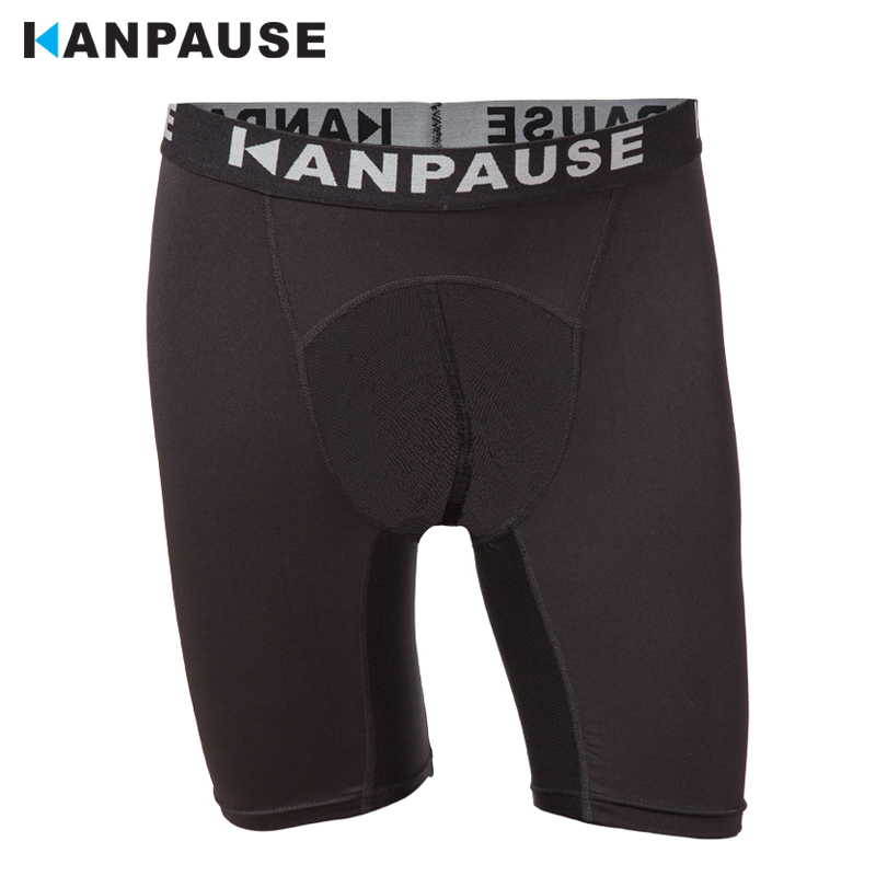 New Arrival  KANPAUSE Men's Drip-dry Compression Tights Shorts Running Shorts Training Shorts Breathable Sportswear