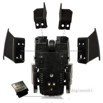 Maus motherboard/lufteinlässe net/batterie/seite panel abdeckung für Ra zihr Ouroboros RC30-007701 maus 1